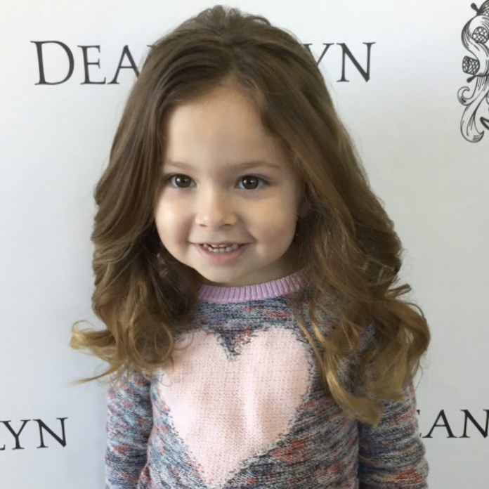 Lovely-Layers-Hairstyle Cute and Adorable Little Girl Haircuts