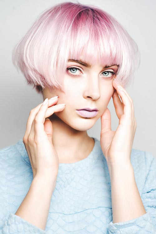 Pastel-Pink-Ombre Fabulous Hair Colors To Beat The Heat This Summer