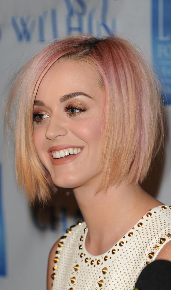 Pink-To-Orange-Ombre Trendy Highlighted Bob Hairstyles You Can Try Today