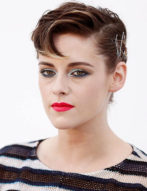Pinned-Pixie Celebs With Stunning Short Hairstyles