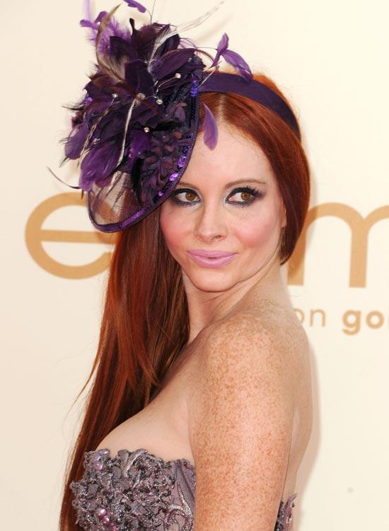 Purple-Headbands Best Hippie Hairstyles
