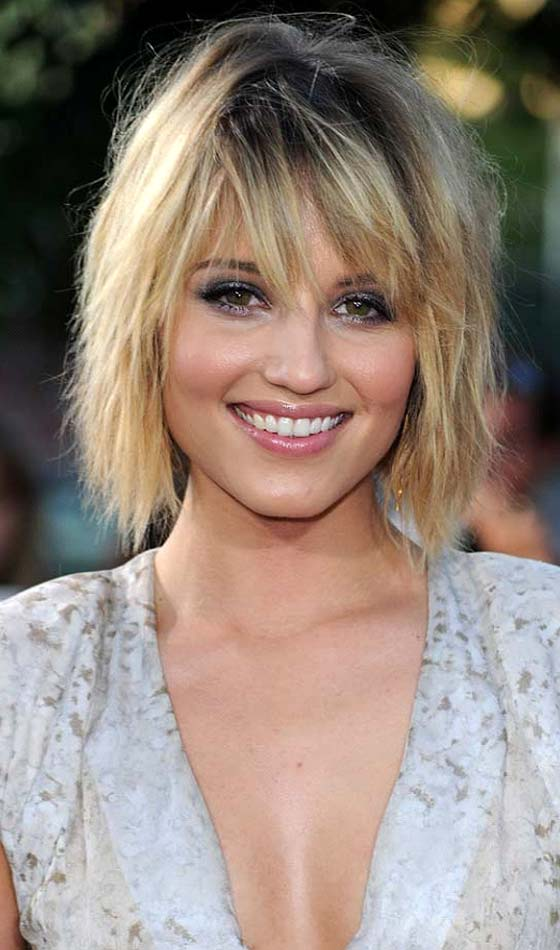 Shaggy-Layers-With-Bangs Short Choppy Hairstyles To Try Out Today