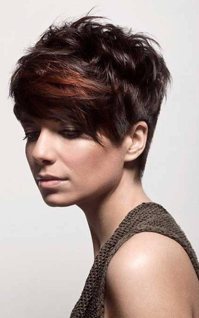 Short-Black-Haircut Modern Hairstyles for Women to Look Trendy