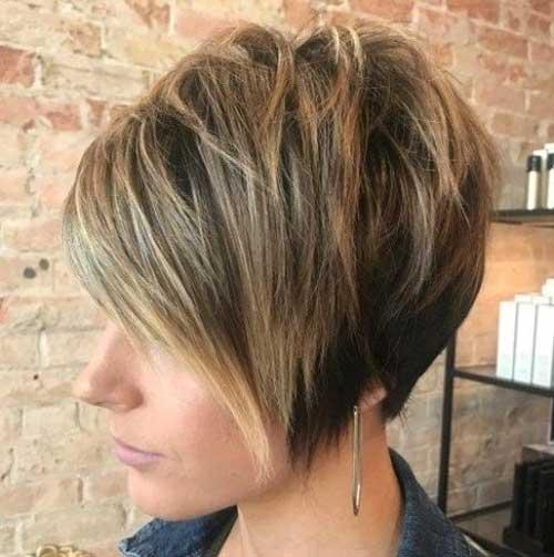 Short-Choppy-Pixie-Bob-Hairstyle-for-Thick-Hair Best Short Choppy Hair for Ladies