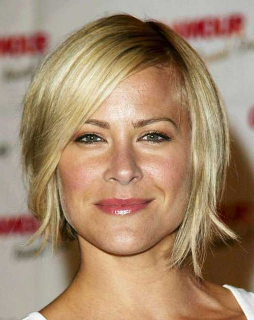 Short-Layered-Straight-Hairstyle-for-Women-Over-40 Short Hair For Over 40