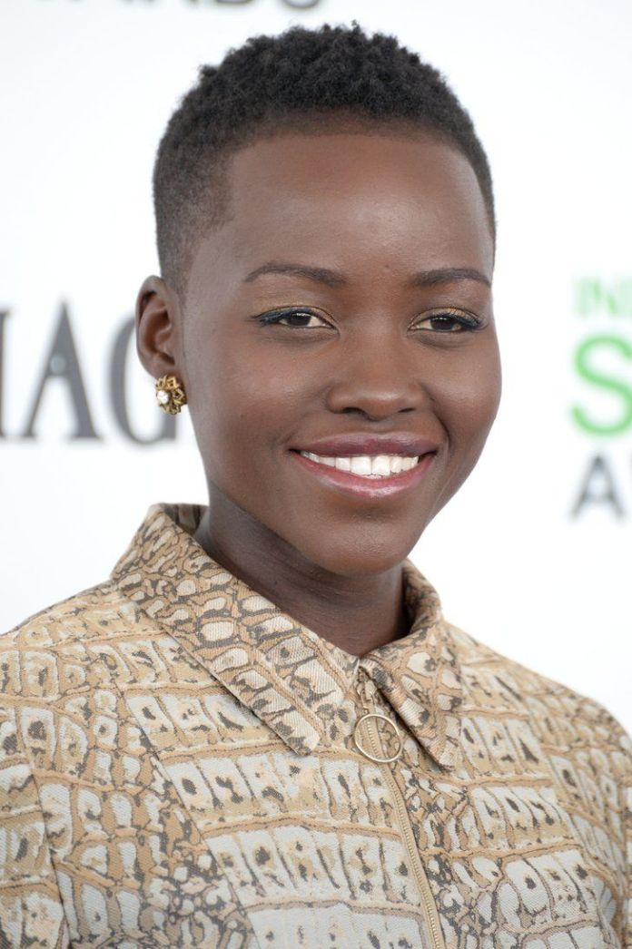 Short-Tapered-Haircut Most Stylish Afro Hairstyles for Women to Look Stunning