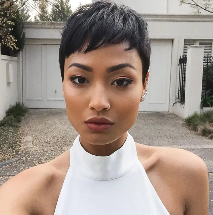 Short-Waves-Hairstyle Cute African American Hairstyles for Gorgeous Look