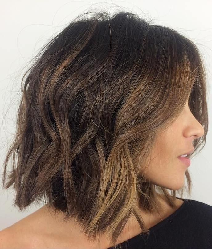 Shoulder-Length-Shaggy-Bob Bob Haircuts 2019 for an Outstanding Appearance