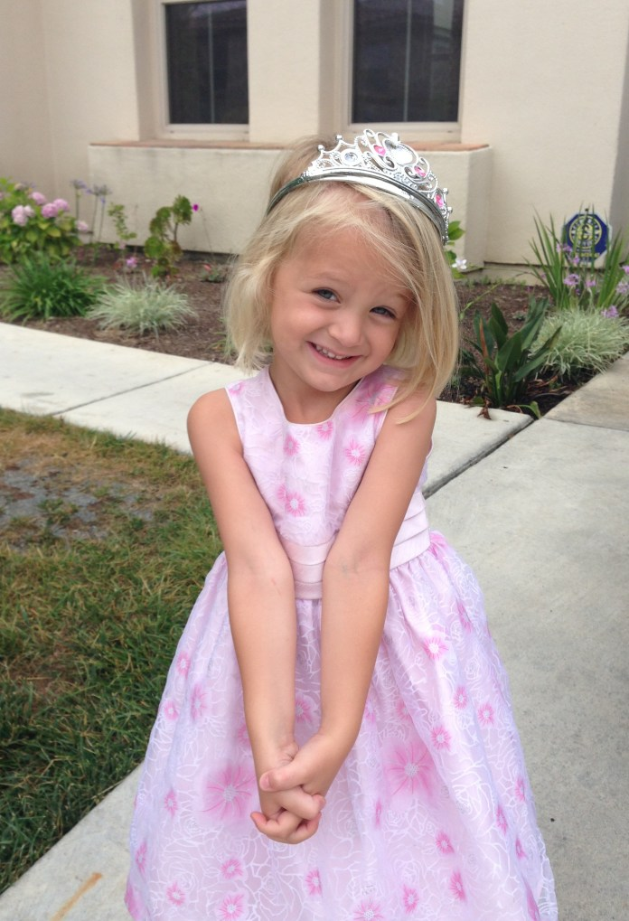 Simple-Bangs-with-Crown Cute and Adorable Little Girl Haircuts