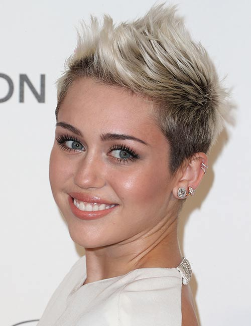 Spiky-Pixie Celebs With Stunning Short Hairstyles