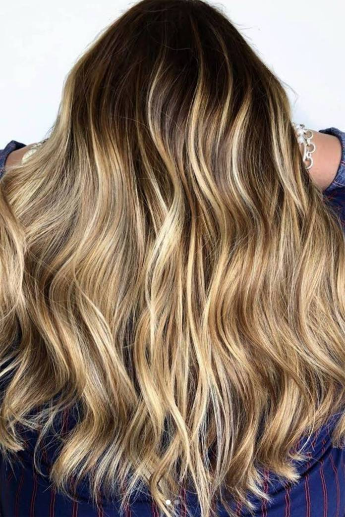Toasted-Coconut-Hair Best and Beautiful Hairstyles with Color
