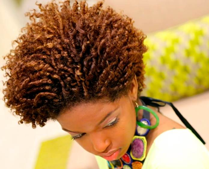 Two-Toned-Golden-Brown-Finger-Coils-Rose-Higher Cutest African American Kids Hairstyles