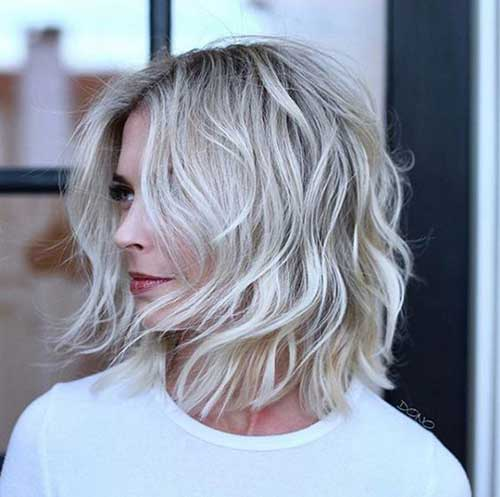 Wavy-Short-Choppy-Haircut-2019 Best Short Choppy Hair for Ladies