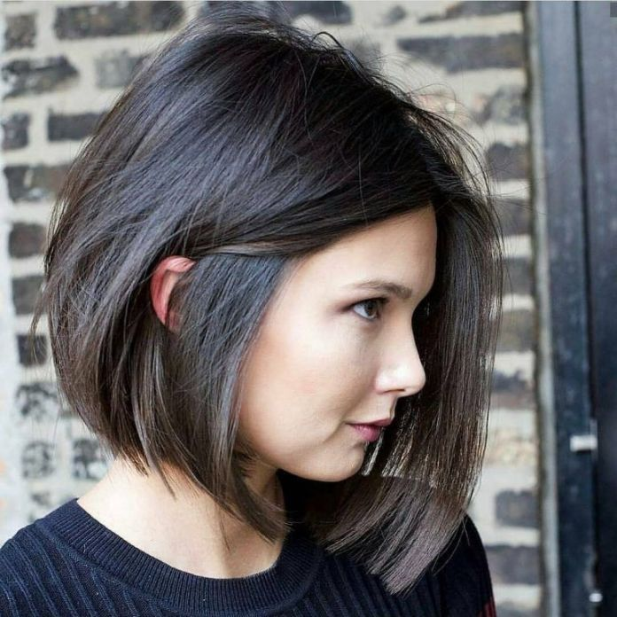 Angular-Bob-Haircut Everyday Short Hairstyles for Fabulous Look
