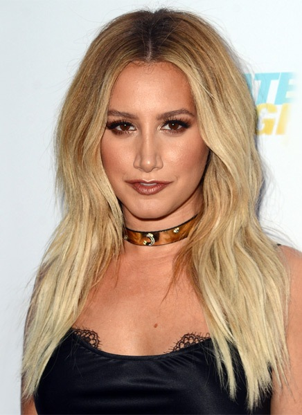 Ashley-Tisdale-Long-Straight-Hairstyle Most Beautiful Celebrity Long Haircuts To Adore