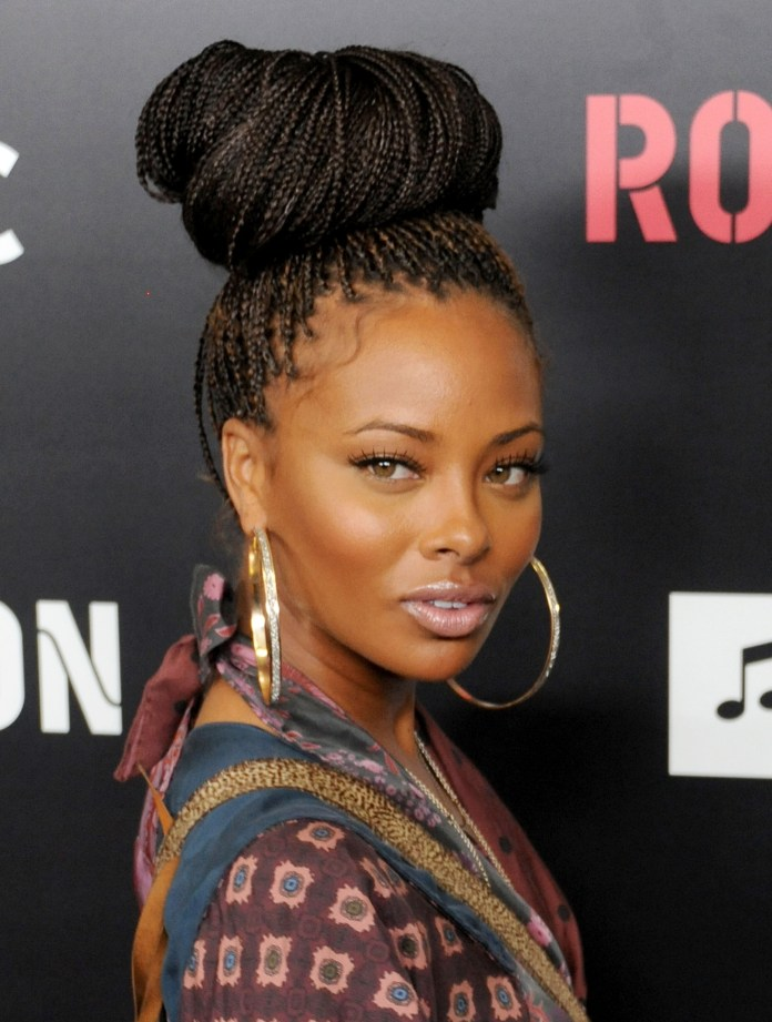 Ballerina-Bun-Braid Poetic Justice Braids to Flaunt Your Fabulous Look
