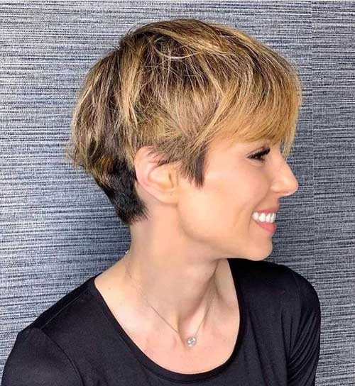 Best-Layered-Pixie-Hairstyles-10 Best Layered Pixie Hairstyles
