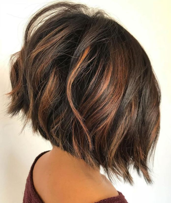 Bob-Haircut-with-Thick-Hair Most Coolest Variation of Bob Haircuts to Try Now