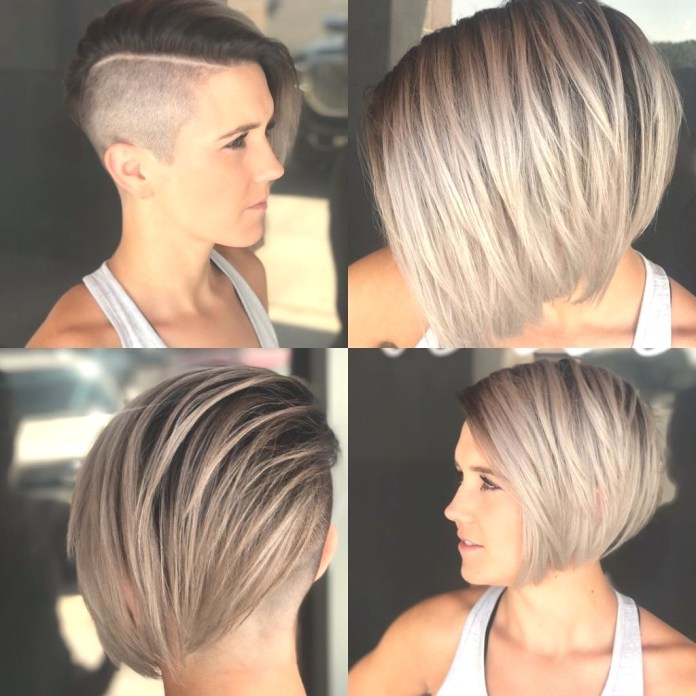 Bob-Haircut-with-Undercut Most Coolest Variation of Bob Haircuts to Try Now