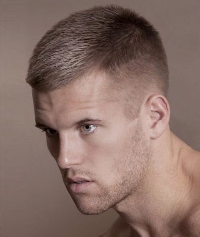 Clean-Blended-Short-Fade Most Dynamic and Dashing Crew Cut for Men
