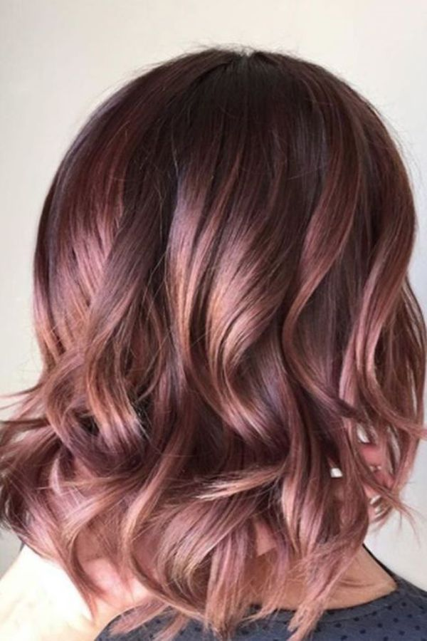 Curvy-colourful-hairstyle-for-an-important-occasion Most Attractive Fall Hairstyles to Try This Year