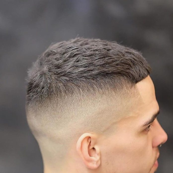 Cut-to-the-Square Most Dynamic and Dashing Crew Cut for Men