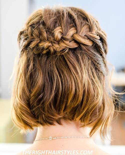 Cute-Braid-for-Short-Hair Alternatives Cute Braids for Short Hair
