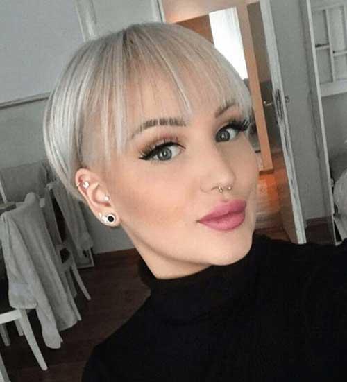 Cute-Short-Hairstyle-for-Fine-Hair Super Cute Short Hairstyles for Fine Hair