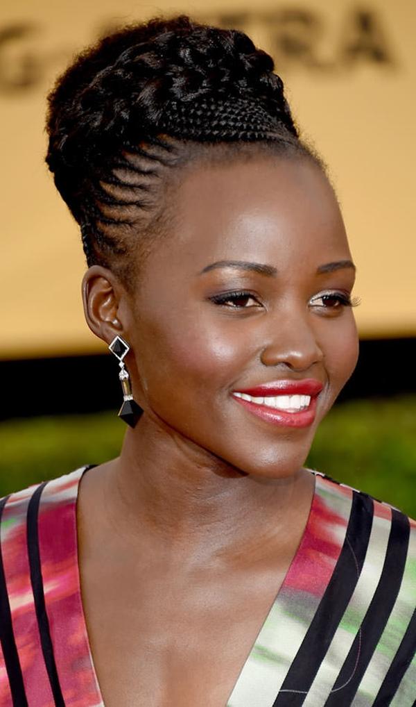 Elegant-Bun-Style Stylish and Stunning African American Braids