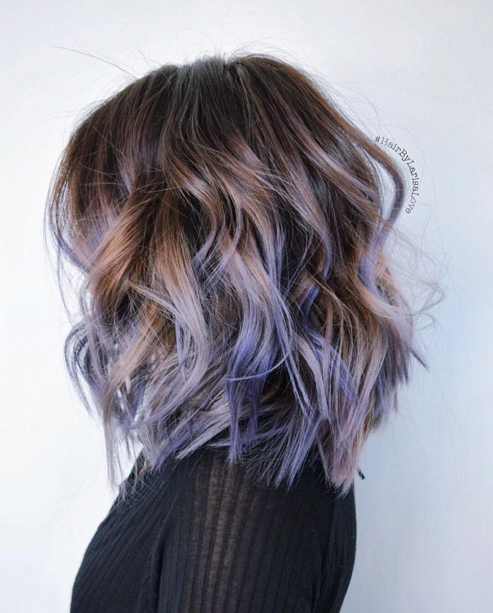 Intermingled-one-sided-trendy-hairstyle Most Attractive Fall Hairstyles to Try This Year