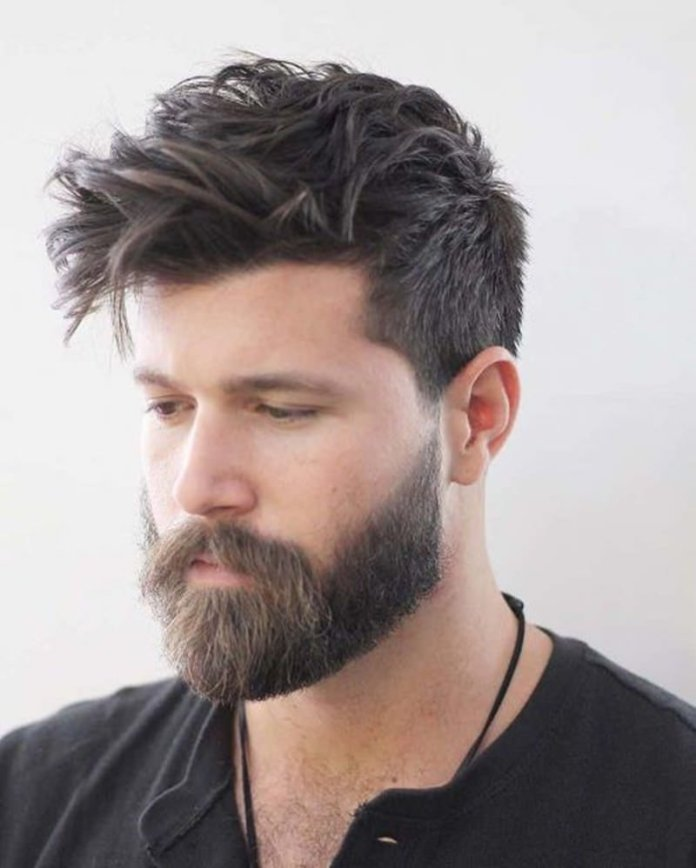 Ivy-League-Haircut Most Dynamic and Dashing Crew Cut for Men
