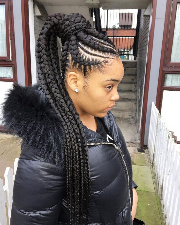 Jumbo-Lemonade-Braids-Hairstyle Stylish and Modern Braids Hairstyles