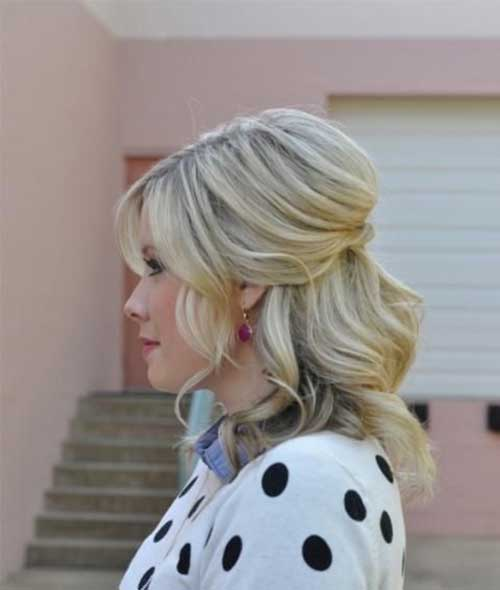 Long-Bob-Style Really Stylish Easy Updos for Short Hair