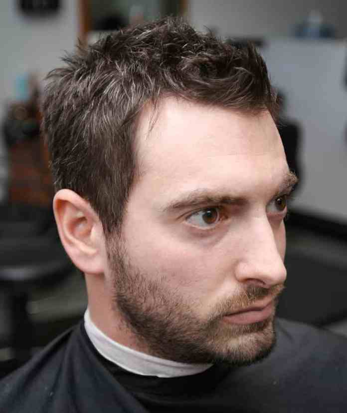 Messy-Crew-Cut Most Dynamic and Dashing Crew Cut for Men