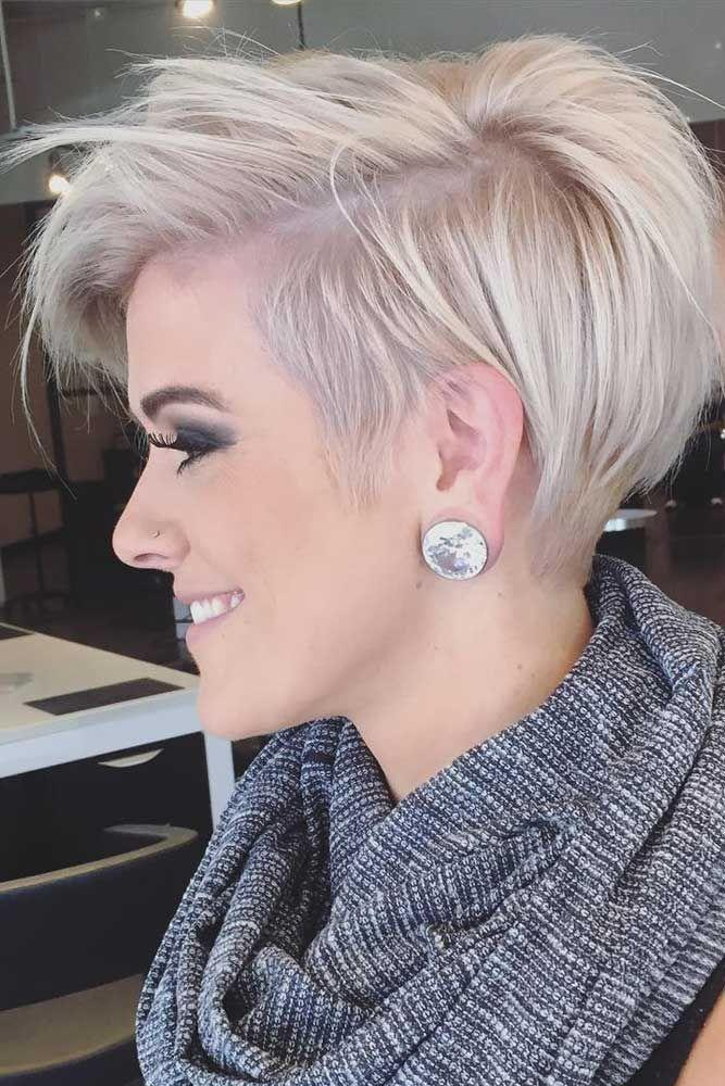 Messy-Pixie-Undercut Celebrity Short Hairstyles for Glamorous Look