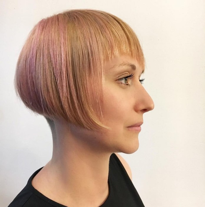 Mid-Angular-Short-Hairstyle Everyday Short Hairstyles for Fabulous Look