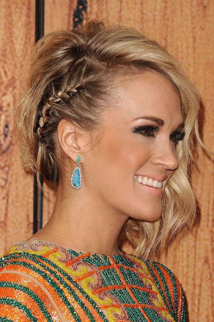 One-Side-Angular-Braid Stylish and Modern Braids Hairstyles