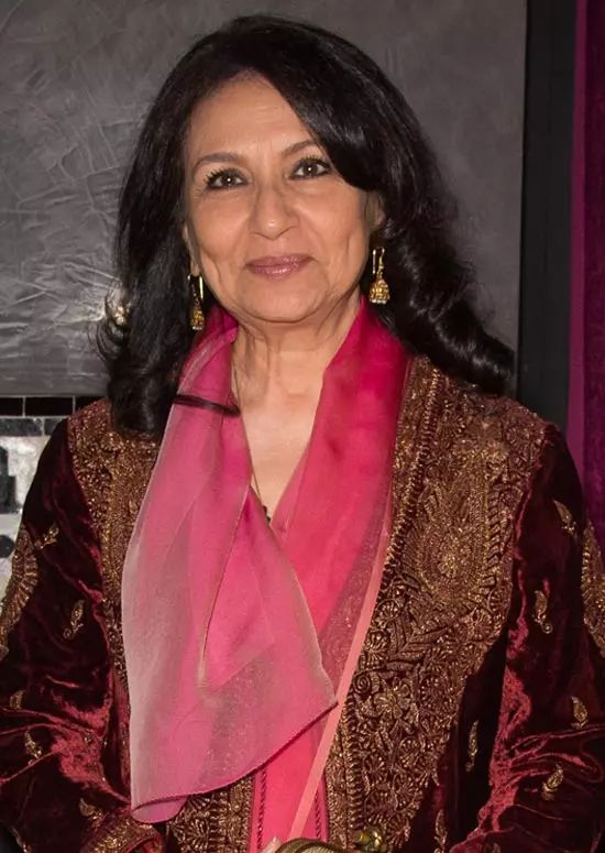 Sharmila-Tagore Top Indian Actresses With Stunning Long Hair