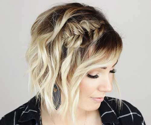 Short-Braided-Hairstyle Alternatives Cute Braids for Short Hair