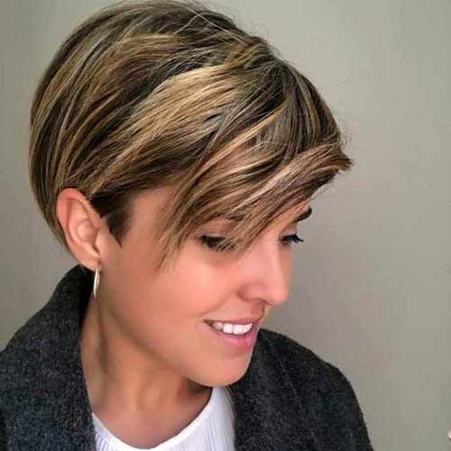 Short-Layered-Hairstyle Latest Pictures of Short Layered Haircuts