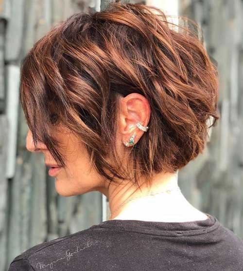 Short-Wavy-Bob-Haircuts-4 Best Short Wavy Bob Haircuts