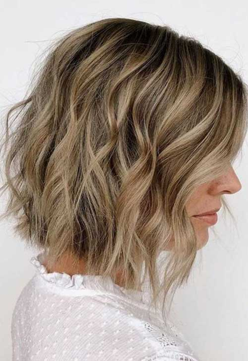 Short-Wavy-Bob-Haircuts-5 Best Short Wavy Bob Haircuts