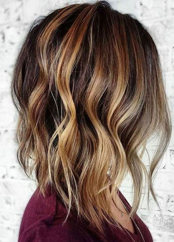 Short-twisted-hair-of-desired-color Most Attractive Fall Hairstyles to Try This Year