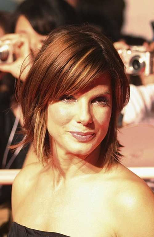 Shoulder-Length-Layered-Bob-Hair Stylish and Perfect Layered Bob Hairstyles for Women