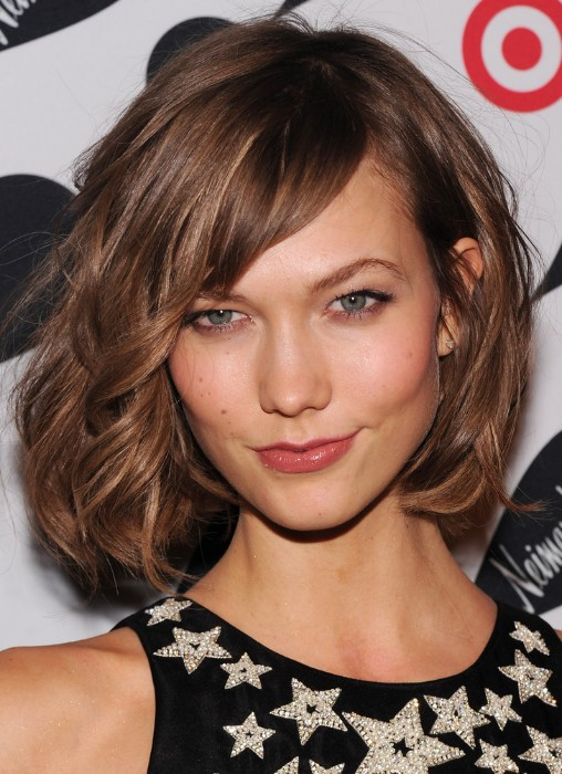 Soft-Curly-Bob-Haircut Stylish and Glamorous Curly Bob Hairstyle for Women