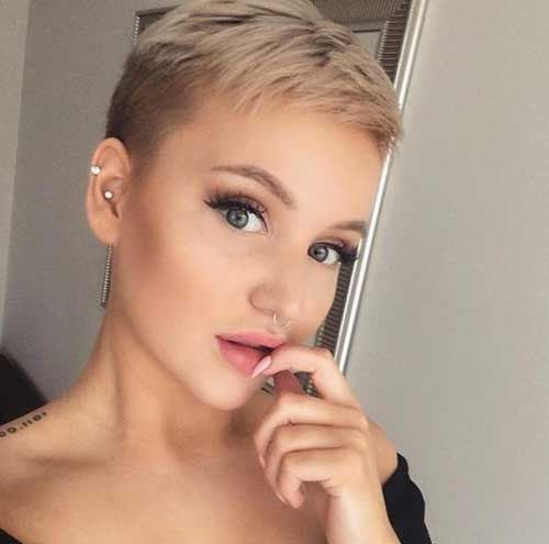 Too-Short-Pixie Super Cute Short Hairstyles for Fine Hair