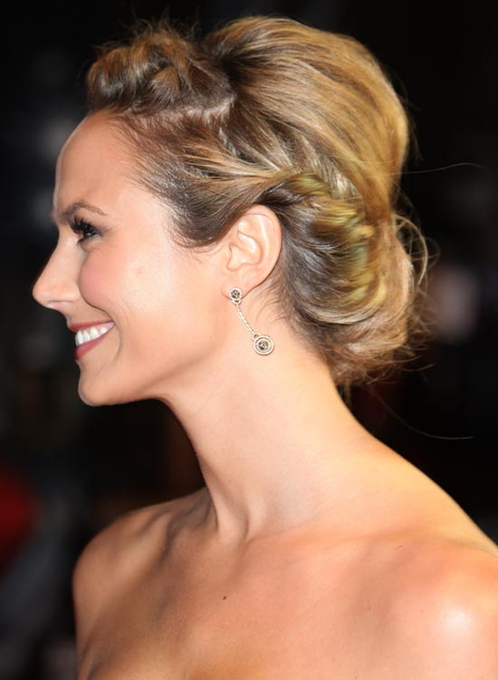 Twist-n-Tuck-Hair-With-Mini-Bouffant Bridal Hairstyle Ideas For Your Reception