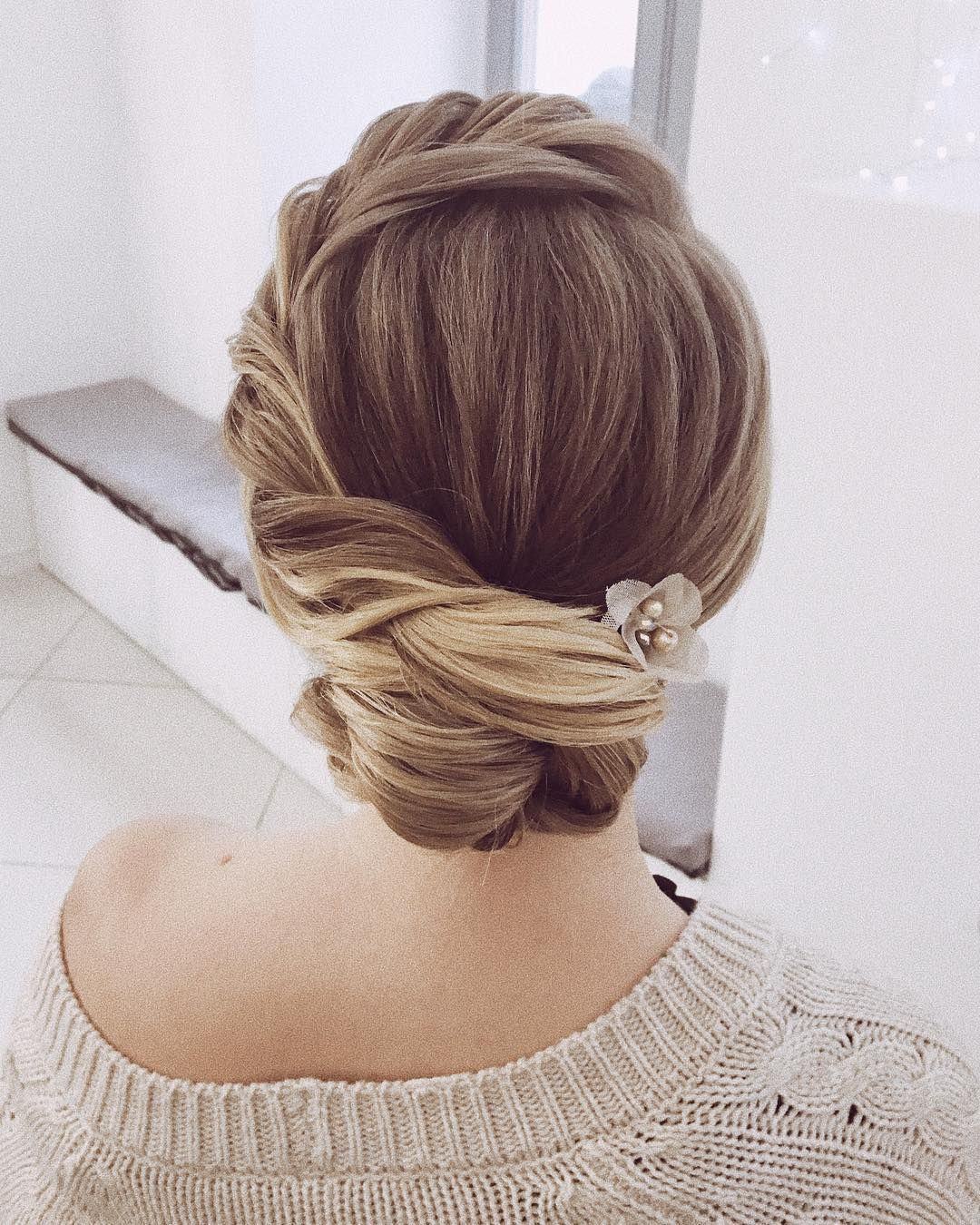 Twisted-Side-Chignon-Hairstyle Most Gorgeous Looking Chignon Hairstyles