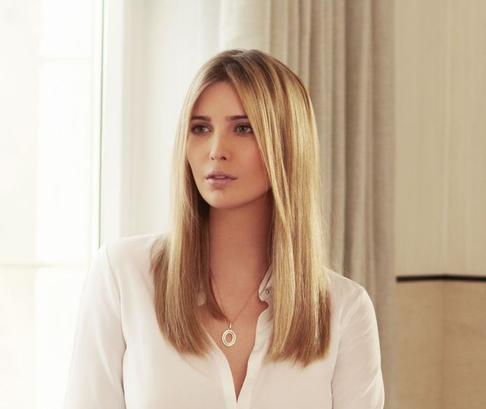 Basic-and-Straight Very Attractive Ivanka Trump Hairstyles