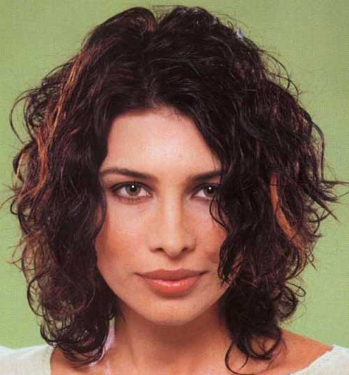 Best-Brunette-Bob-Hair-Color-with-Shades Best Bob Cuts for Curly Hair